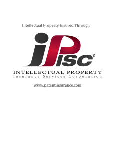 IPISC logo with link for gutter guard patents