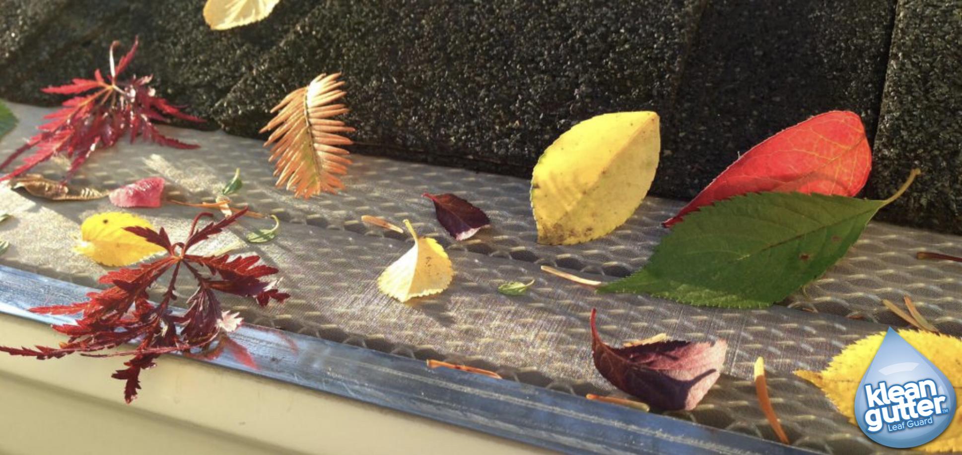 how klean gutter leaf guard works